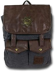 Licensed AMC The Walking Dead Rick Grimes Sheriff Black Backpack
