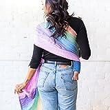 LÍLLÉbaby Ring Sling w/Removable Pocket, Rainbow