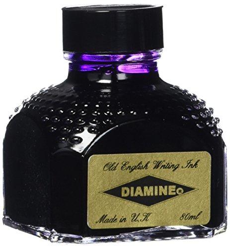 (DIAMINE 80 ml Bottle Fountain Pen Ink, IMPERIAL PURPLE)