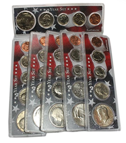 1996 Birth Year Coin Set In A Protective SnapLock Holder