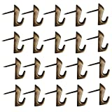 Haidong Zinc Alloys Push Pin Style Picture Hooks That Do Not Need Accessories Push Pin Hanger 20Pcs