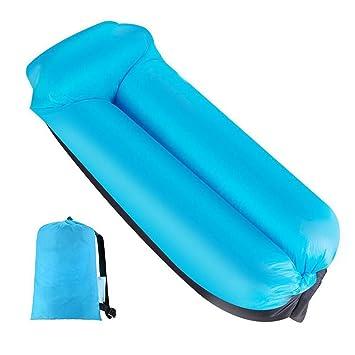 Air sofá, hinchable Lounger impermeable portátil hinchable sofá/cama/kampierender playa de y