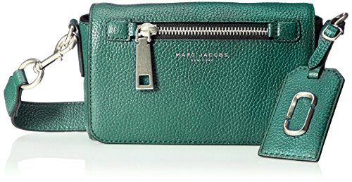 - Marc Jacobs Gotham City Cross Body Bag, Emerald Green, One Size