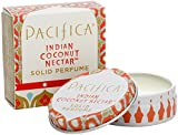 Pacifica Solid Perfume - Indian Coconut Nectar 0.33 oz (Pack of 2)