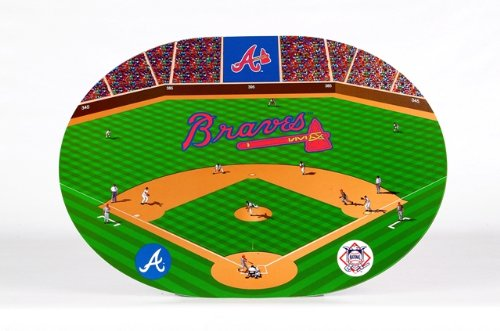 Atlanta Braves Clock - 8