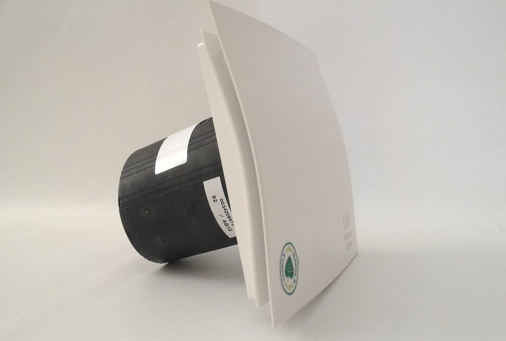 Aspiratore Vortice Vort Notus T-HCS /Ø 100 con sensore umidit/à per ventilazione continua