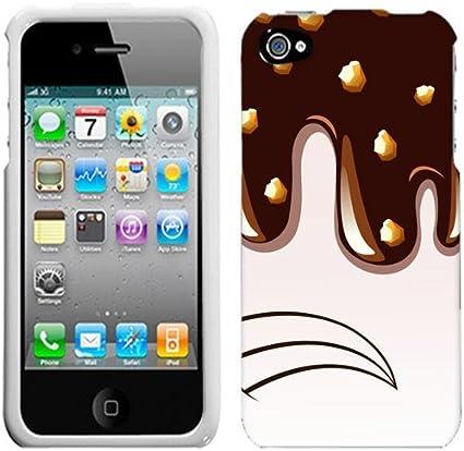 Apple iPhone 4/4S Sirop de chocolat avec écrous Coque: Amazon.ca ...