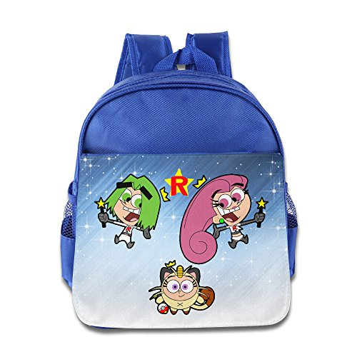 [Boomy Fashion Team Rocket School Bag For 3-6 Years Old Girls & Boys RoyalBlue Size One Size] (Work Team Costumes)