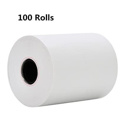 "3 1 8/"" x 230/' Thermal Receipt Paper POS Cash Register 100 Rolls BUY REGISTER ROL"
