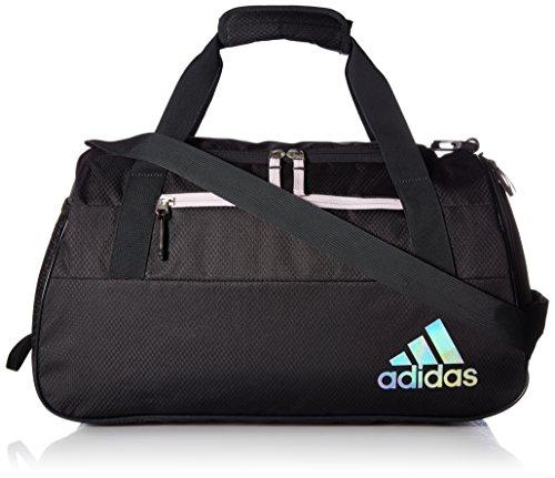 (adidas Squad Duffel Bag, Grey/Aero Pink, One Size)