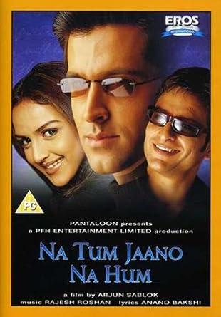 Amazon Com Na Tum Jaano Na Hum 2002 Hindi Film