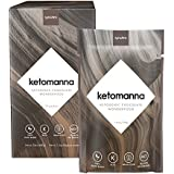 Synchro Keto Manna | Ketogenic Chocolate Fudge | 12g MCTs | Perfect Keto Nutrition On-The-Go | Low Carb Snack (1.2oz Packets, Box of 20)