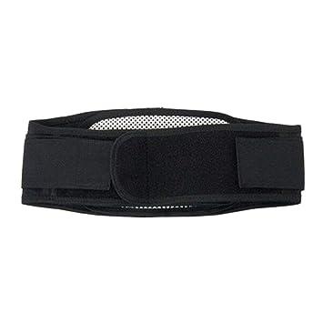 daaf00a3fc28 Réglable ceinture tourmaline auto-chauffant ceinture magnétique support  lombaire support taille arrière brace sangle soulager