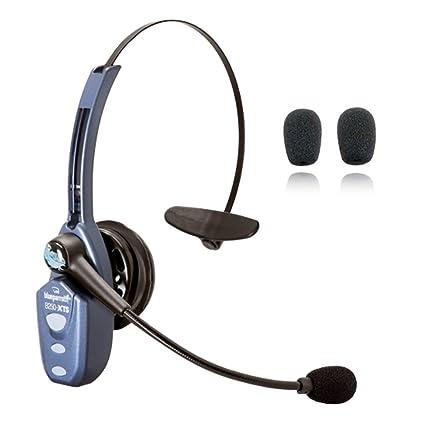 bc65b2a0dd4 VXi Blueparrott B250-XTS Bluetooth Headset Bundle -203890 | Bonus  Microphone Cushions | NFC