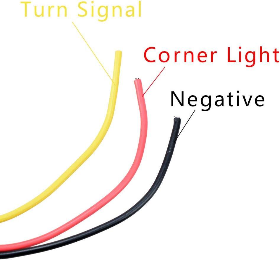 Amazon.com: Anzio 24-LED Double Face Sider Marker Light ... on