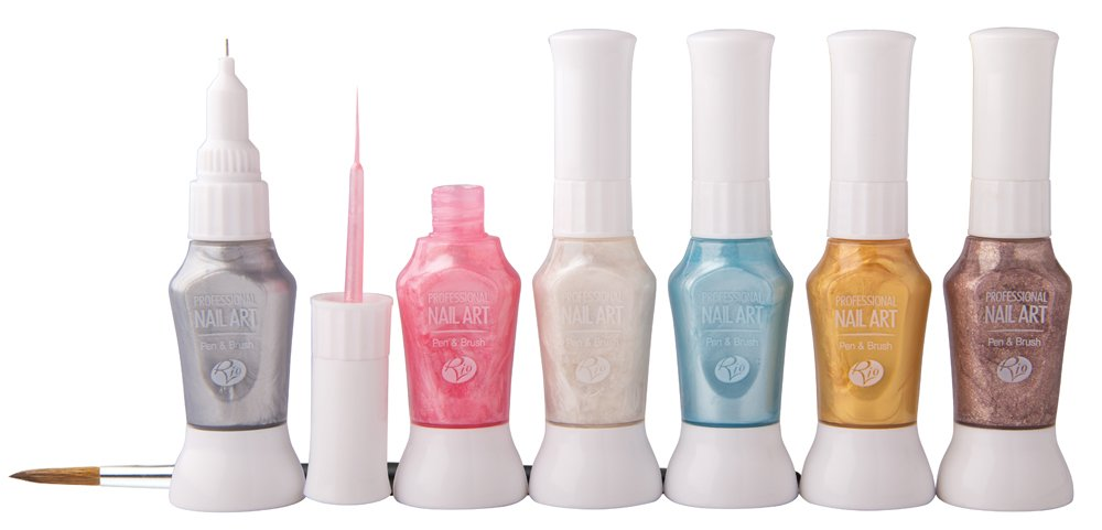 Rio Professional Nail Art Pens - Pastel Collection The Dezac Group Ltd NPEP