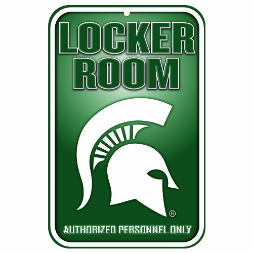 - NCAA Michigan State Spartans  11-by-17 inch Sign