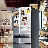 Bamlue 16-Piece Magnetic Metal Clip, Refrigerator