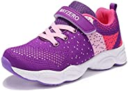 MAYZERO Kids Tennis Shoes Breathable Running Shoes Lightweight Athletic Shoes Walking Shoes Fashion Sneakers f
