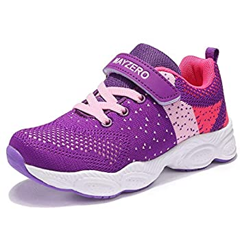 MAYZERO Youngsters Tennis Footwear Breathable Operating Footwear Strolling Footwear Vogue Sneakers for Boys and Ladies