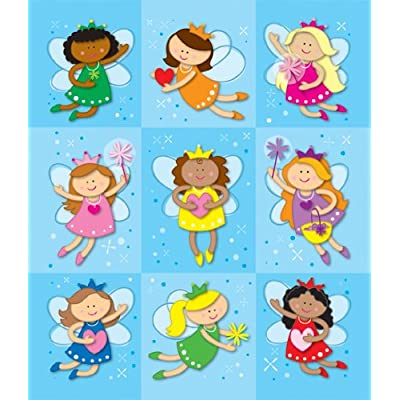 Carson Dellosa Fairies Prize Pack Stickers (168043): Carson-Dellosa Publishing: Office Products