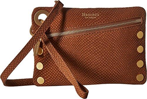 Snake Handbag Gold - Hammitt Women's Nash Small Saddle Snake/Brushed Gold One Size