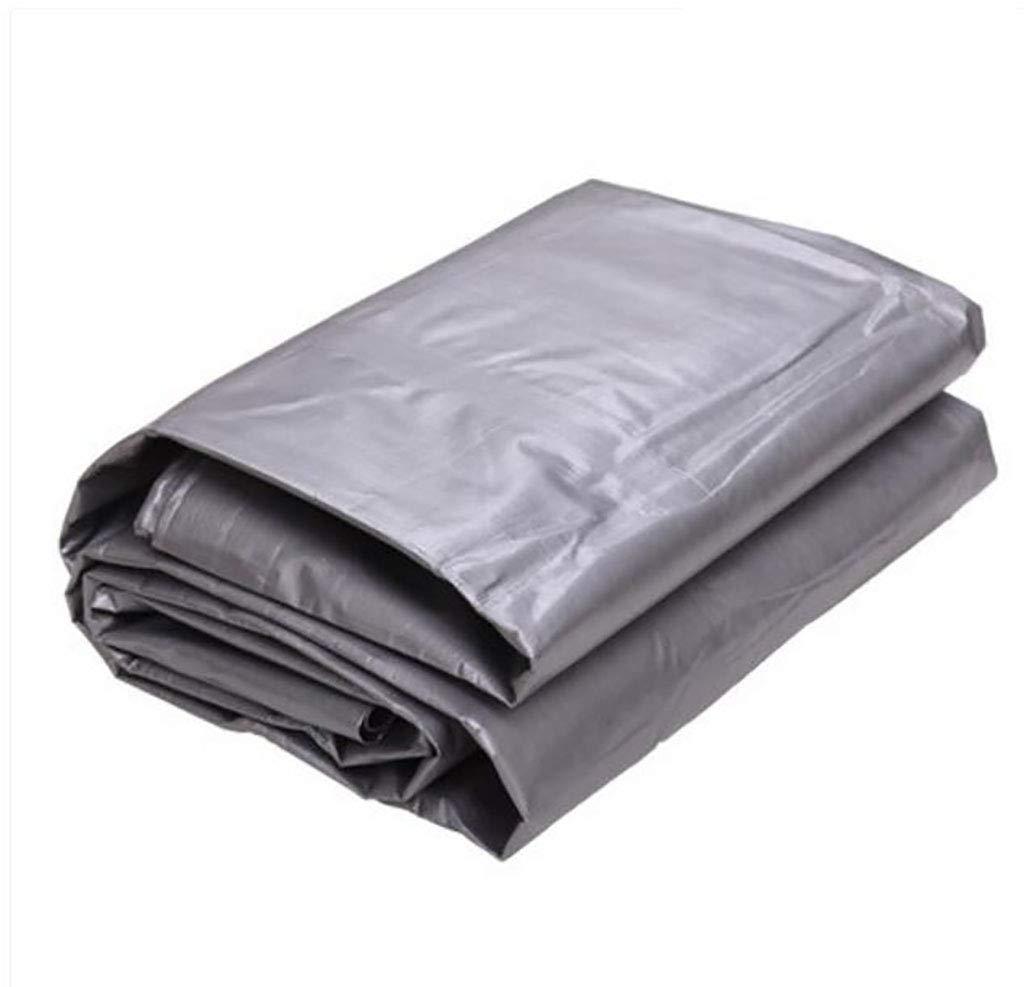 ターポリン ターポリン、防水性プラスチック製防水布、ポリエチレンオーニング布、トラック、サンシェード、オーニング、布、防水布175g /m² (Color : A, Size : 6*4m) B07SQVXM9X A 6*4m