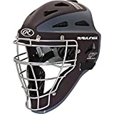 "Rawlings CHVELY Velo Youth Maroon / Gray Catchers Helmet Fits 6 1/2""-7"""