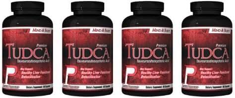 TUDCA (Tauroursodeoxycholic Acid) 4 pack