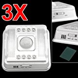 TOOGOO(R)3 X 8 LED Infrared Sensor A White Movement