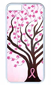 DIY Hard Shell White Best Fashion iphone 6 Case Breast Cancer Awareness Dawn Plyler