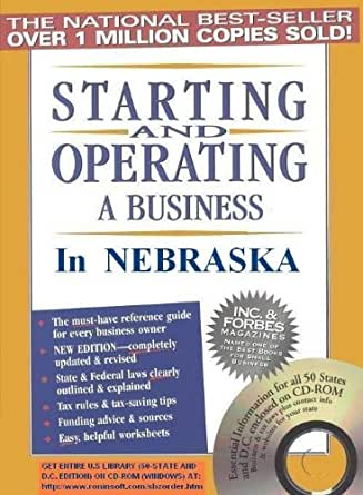 Amazon.com: Starting and Operating a Business in Nebraska ...