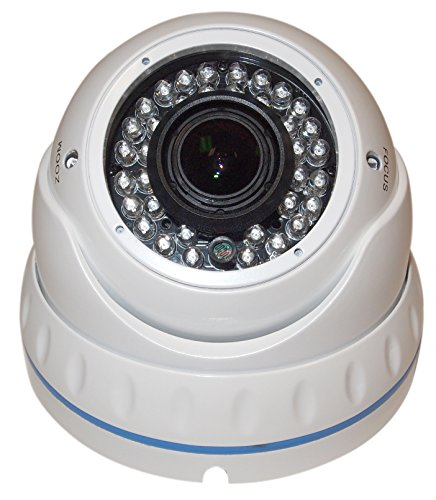 Evertech CDM372V.7 with OSD Menu; CCTV Security Dome Camera 700 TVL Sony CCD Weatherpro...