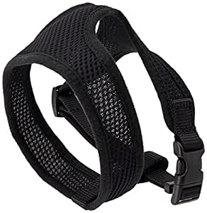 Coastal Pet Products DCP6413BLK Comfort Soft Adjustable Dog Harness, X-Small, Black