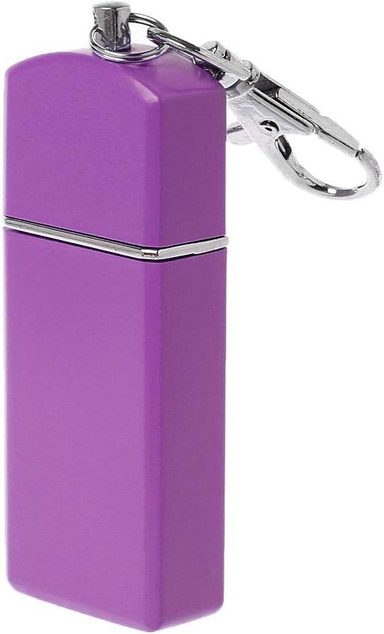 jiheousty Portable Mini Cendrier De Poche Coupe-Vent Porte-cl/és en Plein Air De Fumer Accessoire