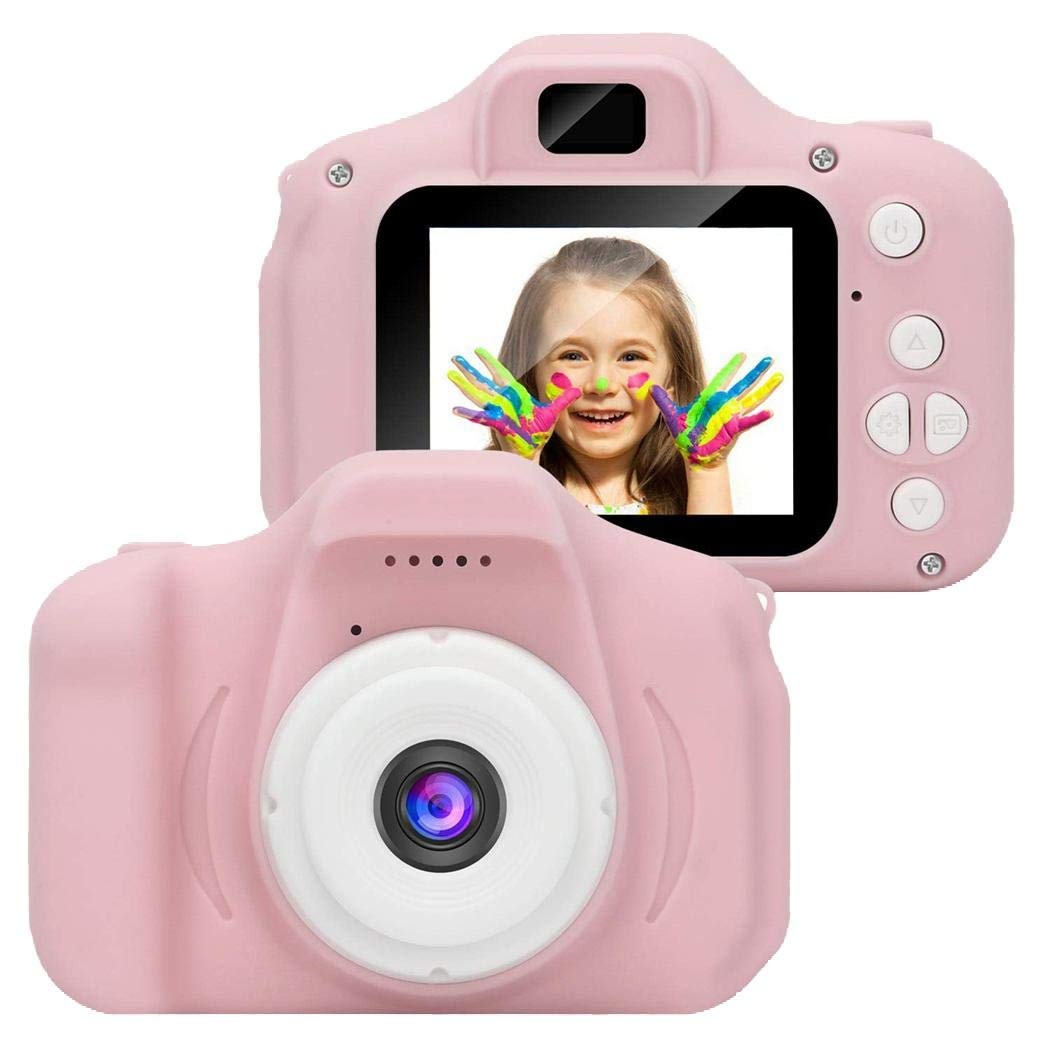 viaste Children Mini Digital Camera 2 Inch Screen Video Recorder Educational Toys Digital Cameras by viaste