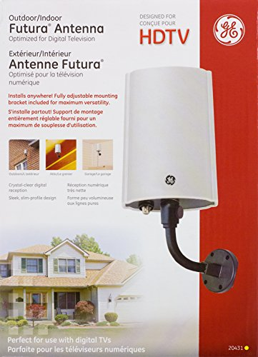 GE 20431 Outdoor/Indoor Antenna for TV/FM Stereo