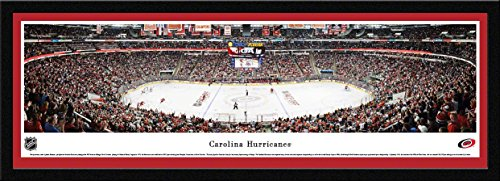 (Carolina Hurricanes - Blakeway Panoramas NHL Posters with Select Frame)