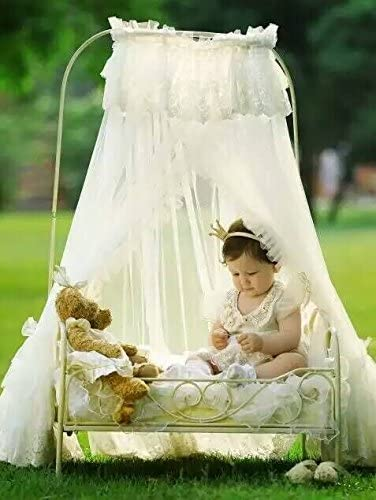 2019 Creative Newborn Baby Princess Bed Photography Props Girls Infant Photo Props Iron Art Bed for Newborn Baby D-78
