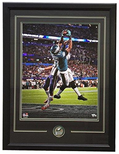 Photo Framed 16x20 (Alshon Jeffrey Signed Framed 16x20 Eagles Super Bowl 52 Touchdown Photo Fanatics)