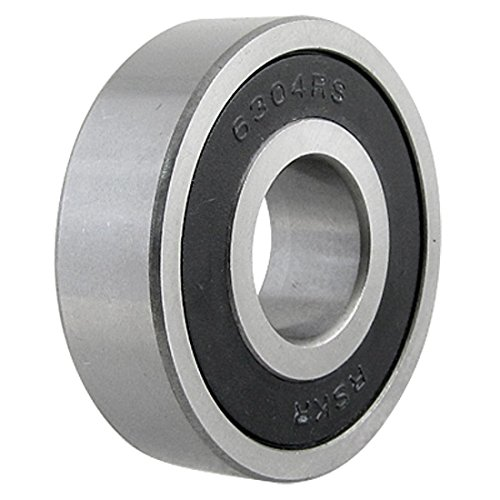 Bluesky 6304RS 20x52x15 Groove Ball Wheel Bearings Single Row for Bike (6304) 2rs Bike Wheel