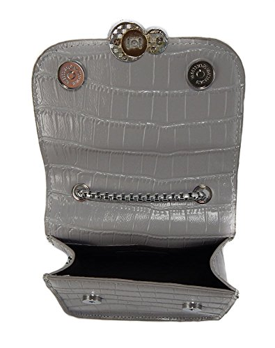 Cell To Mini Shoulder Go Snakeskin Go Grey Purse Crossbody Fashion Phone Embossed 0Rq0ar