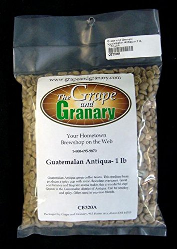 Guatemalan Antiqua unroasted Coffee Beans (1LB)