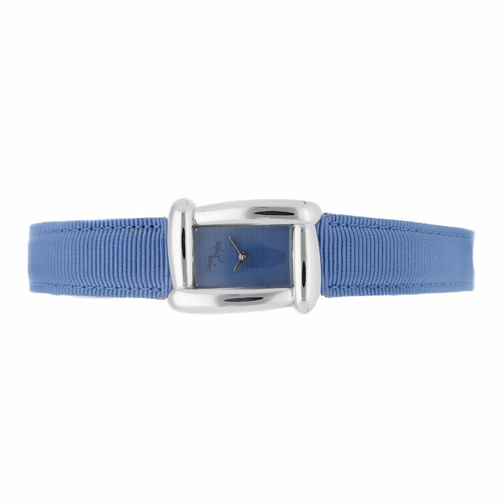 Henry Dunay Sabi quartz womens Watch W6003BLUE (Certified Pre-owned)