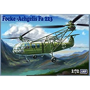 AMP 72-003 - 1/72 - Focke Angelis Fa-223 Drache Helicopter Plastic Model kit 2