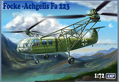 AMP 72-003 - 1/72 - Focke Angelis Fa-223 Drache Helicopter Plastic Model kit 1
