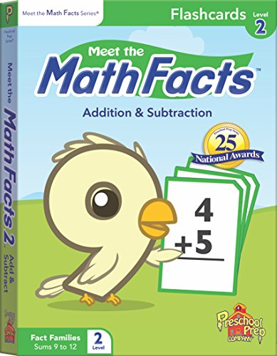 Meet the Math Facts Addition & Subtraction Flashcards - Level 2