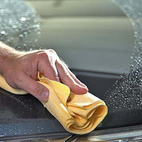 29-Inch x 18-Inch Case of 6 CleanTools The Absorber XL Synthetic Drying Towel Chamois Natural