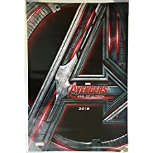 AVENGERS AGE OF ULTRON MOVIE POSTER 2 Sided ORIGINAL Advance 27x40