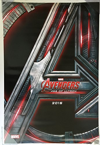 (AVENGERS AGE OF ULTRON MOVIE POSTER 2 Sided ORIGINAL Advance 27x40)
